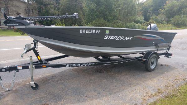 Starcraft SF DLX 16 Pro Troller