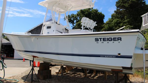 Steiger Craft 255 Deep-V CC- IN STOCK