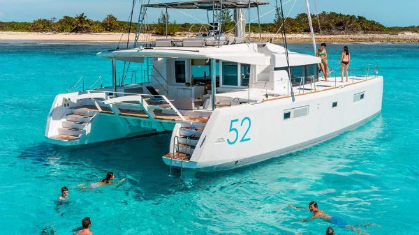 Lagoon 52 Manufacturer Provided Image: Lagoon 52 Stern
