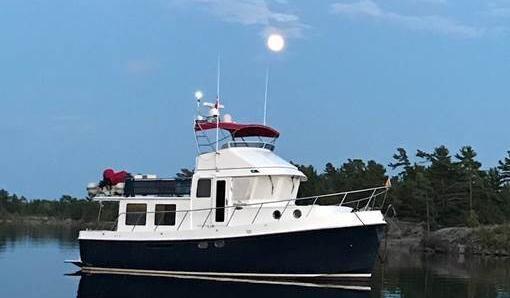 American Tug 41 Flybridge Trawler