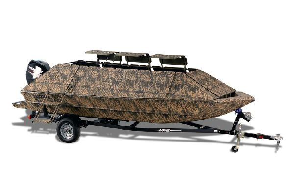 2018 Lowe Roughneck 1860 Waterfowl Tiller