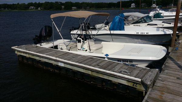Mako Pro Skiff 17 CC Actual Boat