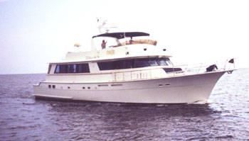 Hatteras Motor Yacht with Cockpit