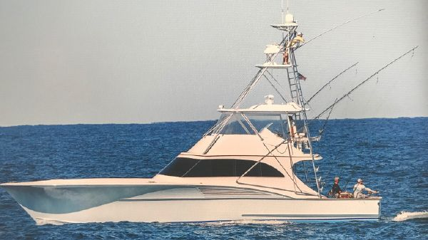 Shearline Boats 58 Custom Carolina Sportfish Convertible