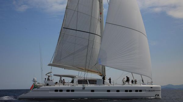 Catana 90 Sailing - Starboard