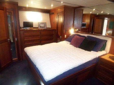Hatteras Motor Yacht Aft Engine Room image