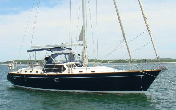 2001 Tayana Deck Salon 48' Deck Salon