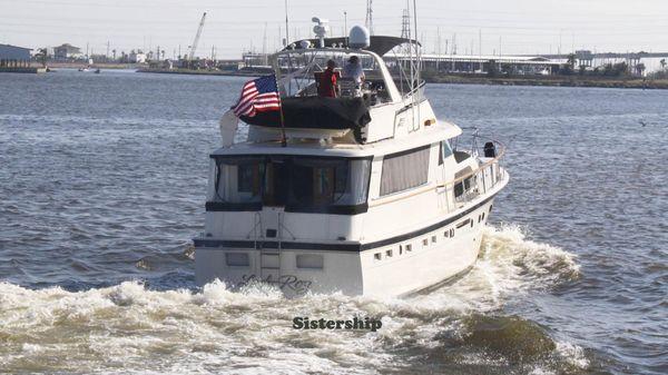 Hatteras 53 Motor Yacht ED STABILIZED