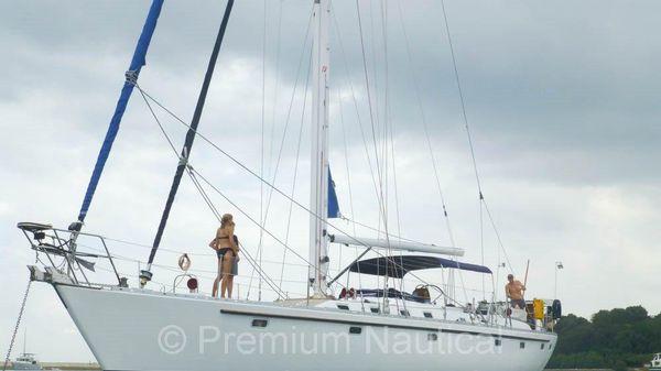 Tayana 55 At Anchor