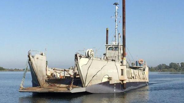 Landing Craft LCM LCU Cargo Supply