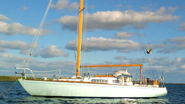 Francis Jones Classic Sloop Afloat, Strangford Lough