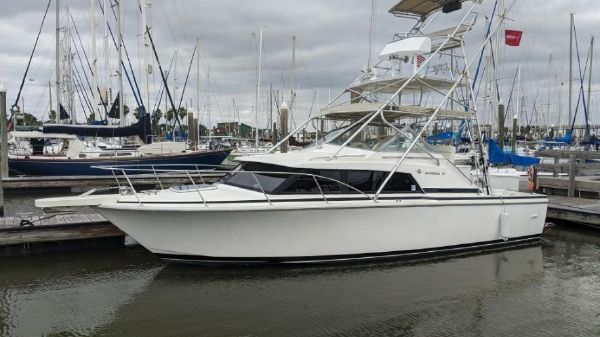Bertram 30 flybridge