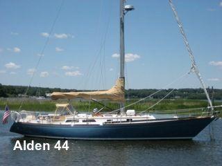 1989 Alden 44 Aft Cockpit