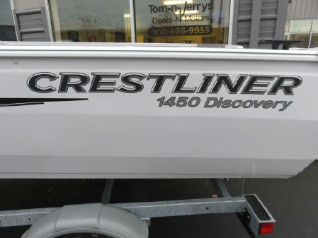 Crestliner 1450 Discovery Tiller B3046 image