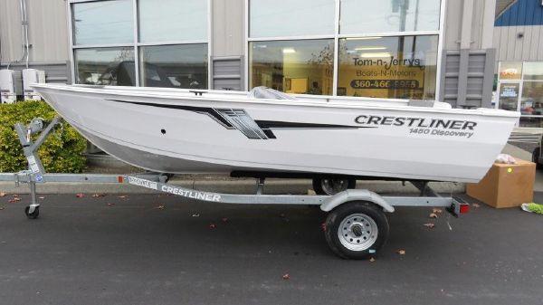 Crestliner 1450 Discovery Tiller B3046