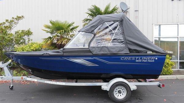 Crestliner 1650 Fish Hawk SE B3044