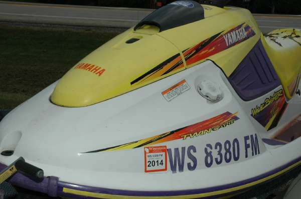 1996 Yamaha Boats Wave Blaster II 760 Wautoma, Wisconsin
