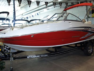2019 Stingray<span>201 DS DUAL CONSOLE DECK BOAT</span>