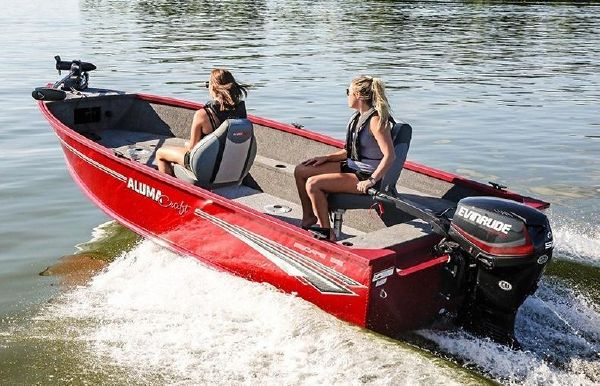 2020 Alumacraft Escape 165 Tiller