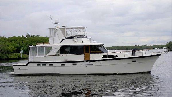 Hatteras 60 Yacht Fish