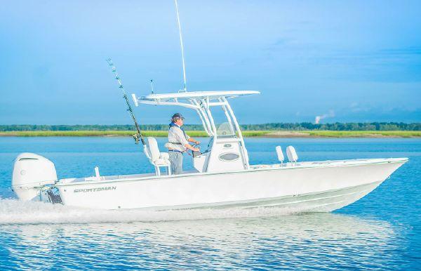 2019 Sportsman Masters 247 Bay Boat