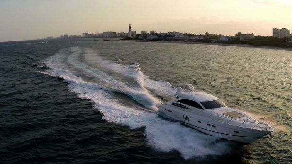 Viking Princess Yacht Express V70 Princess Aerial
