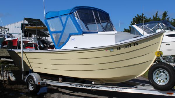 Custom Simmons Sea Skiff 22