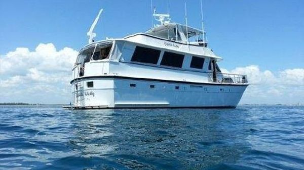 Hatteras Aft Deck Motoryacht