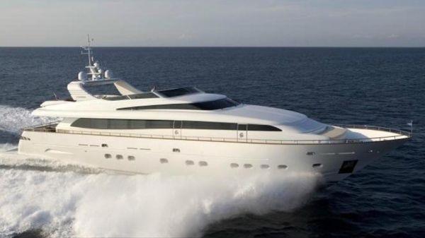Canados 116 Fast Motor Yacht MIKYMAR