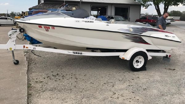 Yamaha XR1800 Limited Edition w/painted trailer