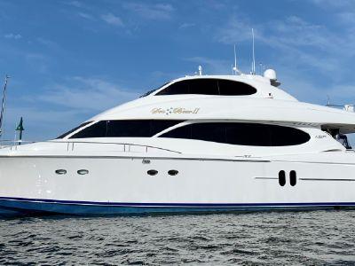2002 Lazzara Yachts<span>Sky Lounge</span>