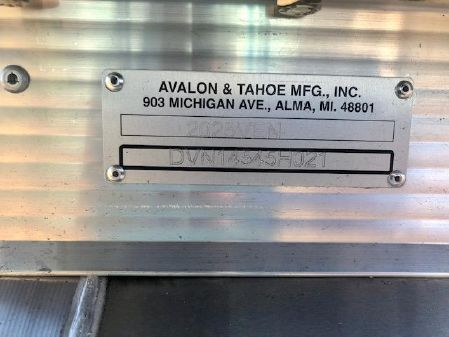 Avalon VENTURE 2080 CRUISE - Pontoon image