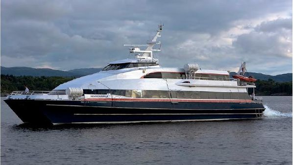 Passenger Ferry Kvarner Fjellstrand KOMMANDOREN