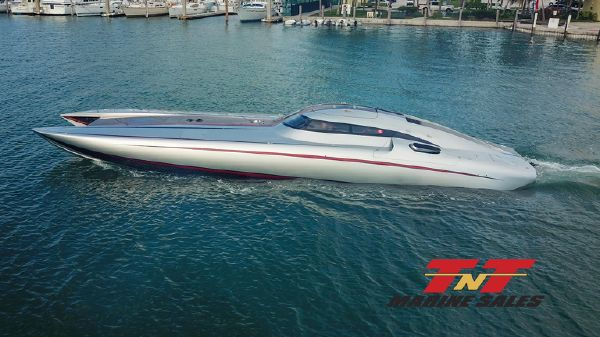 Mystic Powerboats 50 Turbine