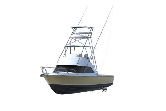 2021 Bertram 35 Flybridge Sportfish