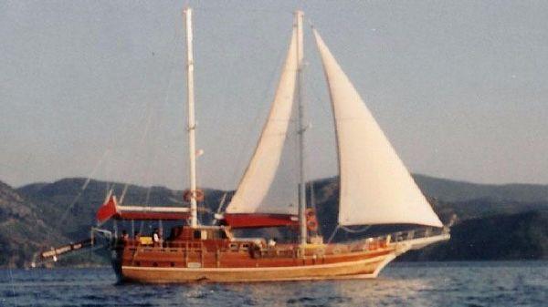 Turkish Gulet Ketch 62' Turkish Gulet Ketch 62 - Underway