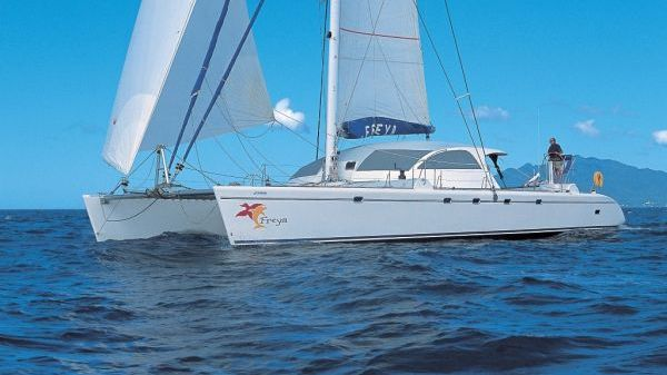Pinta Catamaran Orphee 65
