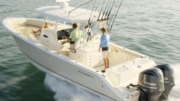 Cobia 344 Center Console Manufacturer Provided Image