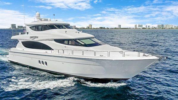 Hatteras Enclosed Bridge Motor Yacht
