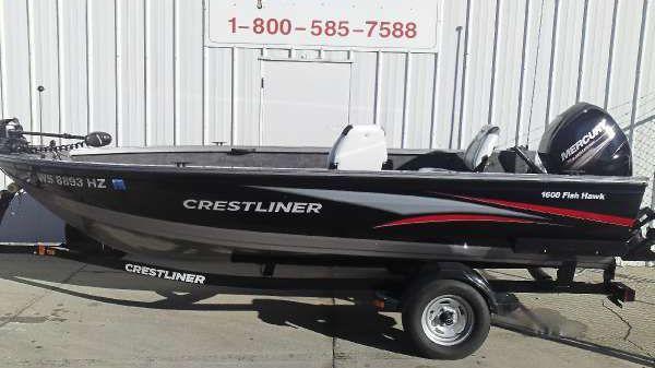 Crestliner 1600 FISH HAWK Tiller