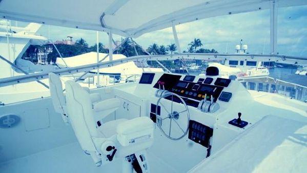 Hatteras Sport Deck image