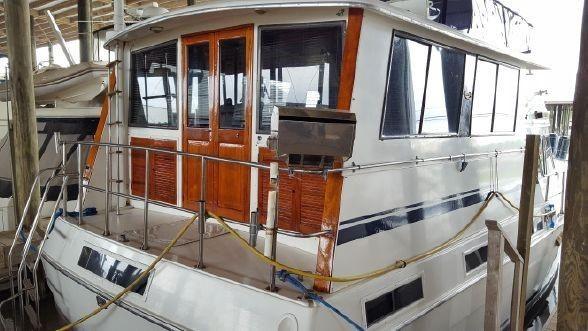 Gulfstar 49 Motor Yacht Repowered image
