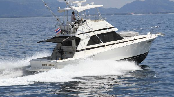 Riviera 39 Sports Fisher