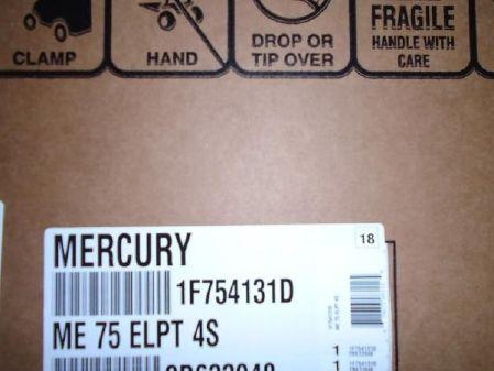 Mercury 75 ELPT 4st image