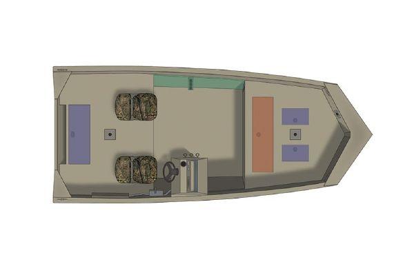 2021 Crestliner 1660 Retriever SC