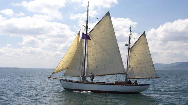 Dikies of Tarbert 48 ft gaff rigged ketch A.M Dikie & Sons Dikies of Tarbert 48 ft gaff rigged ketch A.M Dikie & Sons