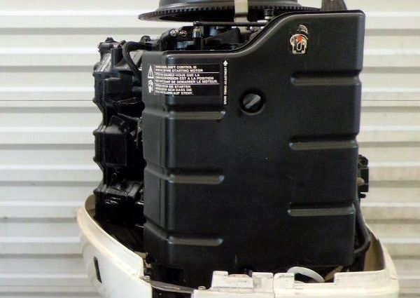Johnson with Evinrude Hood 225hp 25 inch Shaft Carbureted Outboard Motor image