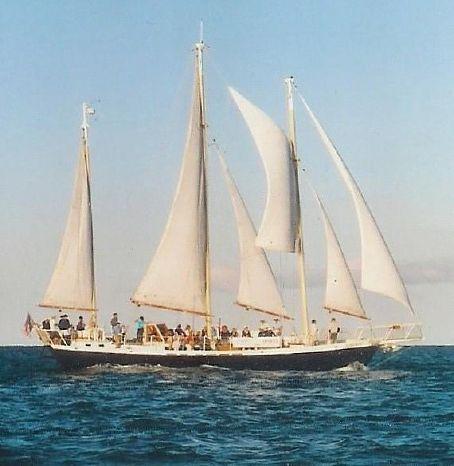 2002 Dudley Dix Schooner Charter Opportunity Brokerage Rhode Island