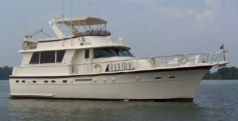 Hatteras 53 Extended Deckhouse Motor Yacht APOGEE