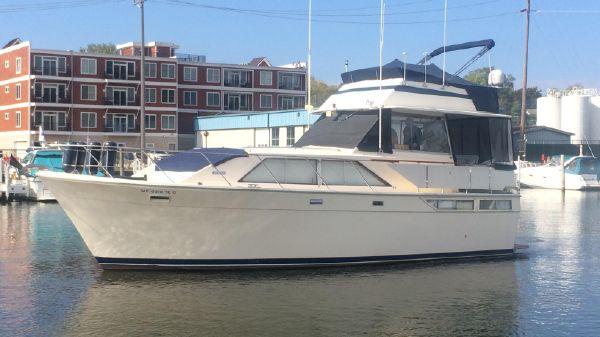 Pacemaker 40 Flybridge Motoryacht PROFILE